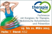 Besuchen Sie uns auf der Therapie Leipzig 1