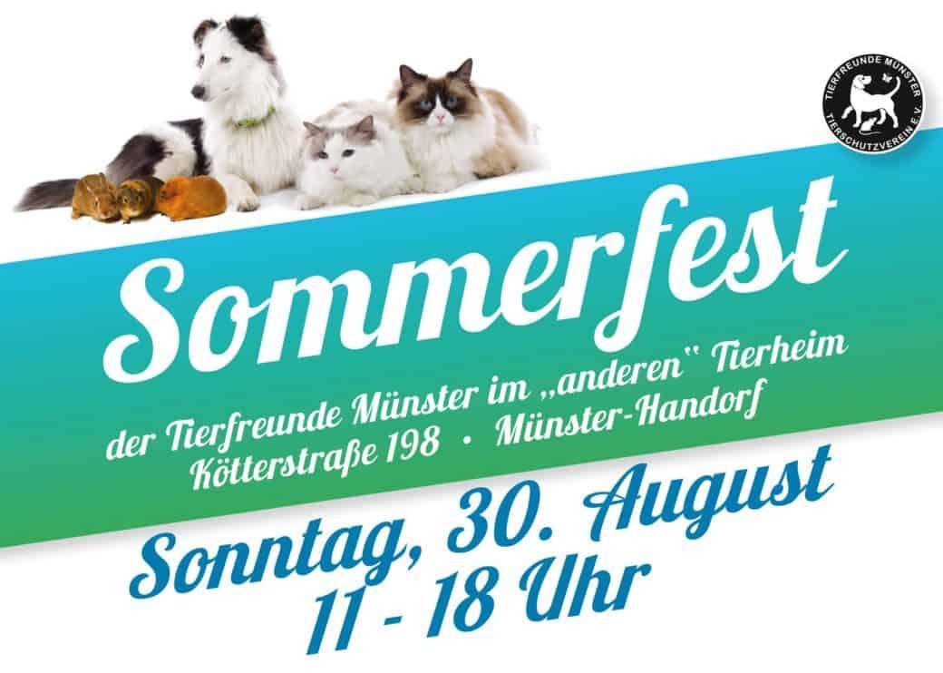DBTB beim Sommerfest der Tierfreunde Münster 1