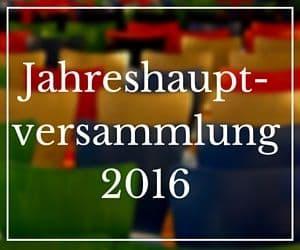 Jahreshauptversammlung 2016 1