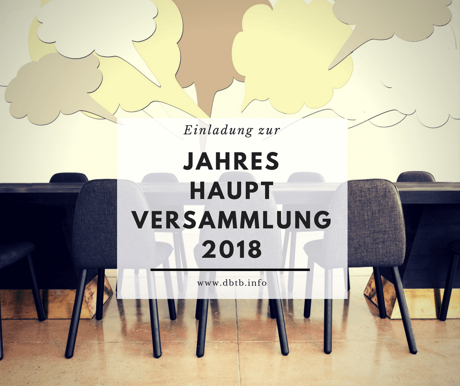 Jahreshauptversammlung 2018 2