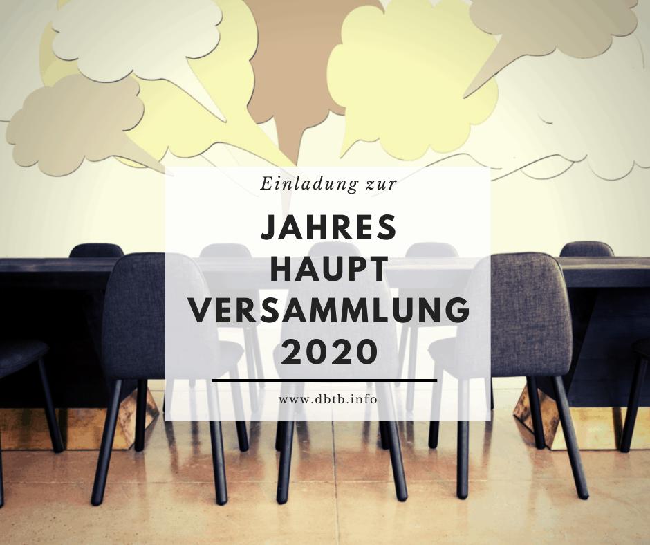 Jahreshauptversammlung 2020 5