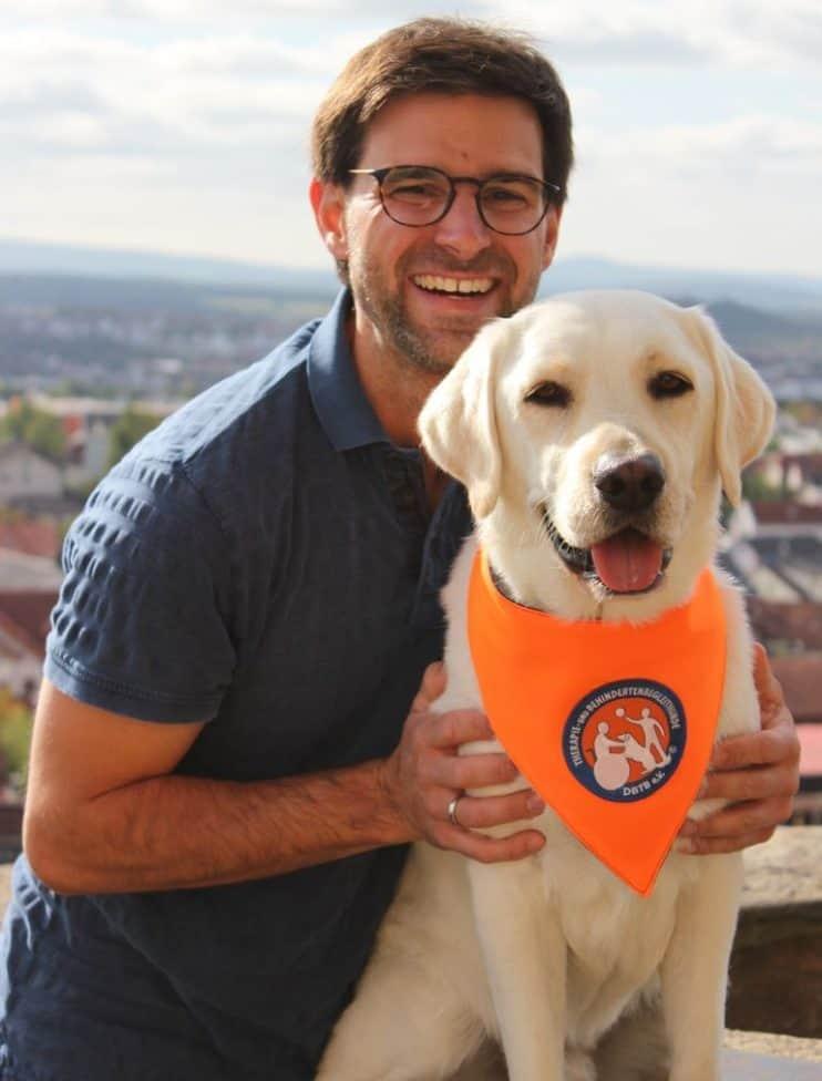 DBTB-Therapiehunde-Team Sascha Mahnel & FARO 1